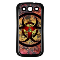 Biohazard Samsung Galaxy S3 Back Case (black)