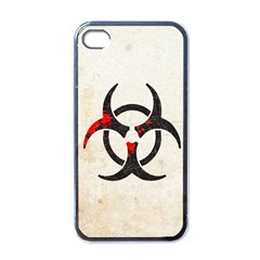 Biohazard Symbol Apple iPhone 4 Case (Black) by Contest1775858