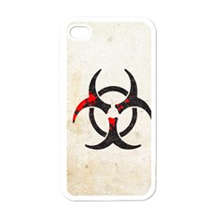 Biohazard Symbol Apple Iphone 4 Case (white) by Contest1775858