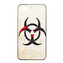 Biohazard Symbol Apple Iphone 4/4s Seamless Case (black) by Contest1775858