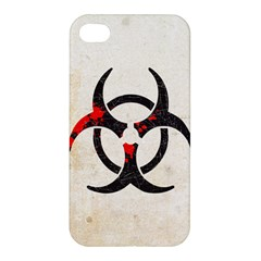 Biohazard Symbol Apple Iphone 4/4s Premium Hardshell Case by Contest1775858