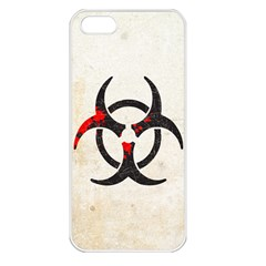 Biohazard Symbol Apple Iphone 5 Seamless Case (white) by Contest1775858
