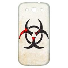 Biohazard Symbol Samsung Galaxy S3 S Iii Classic Hardshell Back Case by Contest1775858