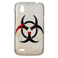 Biohazard Symbol HTC T328W (Desire V) Case by Contest1775858
