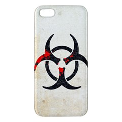 Biohazard Symbol Iphone 5 Premium Hardshell Case by Contest1775858