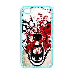 Blood Wolf Apple iPhone 4 Case (Color) by Contest1775858