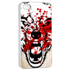 Blood Wolf Apple Iphone 4/4s Seamless Case (white) by Contest1775858