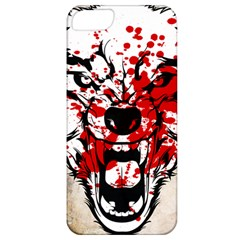 Blood Wolf Apple Iphone 5 Classic Hardshell Case by Contest1775858