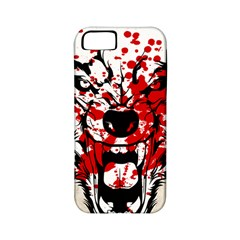 Blood Wolf Apple Iphone 5 Classic Hardshell Case (pc+silicone) by Contest1775858
