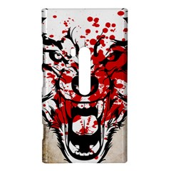 Blood Wolf Nokia Lumia 920 Hardshell Case  by Contest1775858