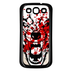 Blood Wolf Samsung Galaxy S3 Back Case (black) by Contest1775858