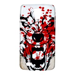Blood Wolf Samsung Galaxy S4 Active (i9295) Hardshell Case by Contest1775858
