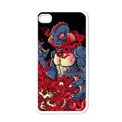 Creature Apple Iphone 4 Case (white) by Contest1775858