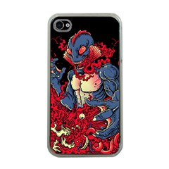 Creature Apple Iphone 4 Case (clear) by Contest1775858