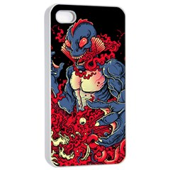 Creature Apple Iphone 4/4s Seamless Case (white) by Contest1775858