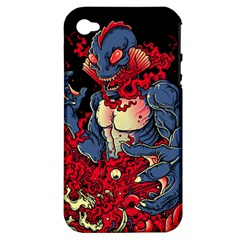 Creature Apple Iphone 4/4s Hardshell Case (pc+silicone) by Contest1775858