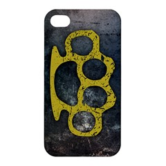 Brass Knuckles Apple Iphone 4/4s Hardshell Case
