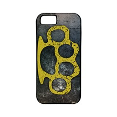 Brass Knuckles Apple Iphone 5 Classic Hardshell Case (pc+silicone)