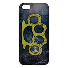 Brass Knuckles Iphone 5s Premium Hardshell Case by Contest1775858