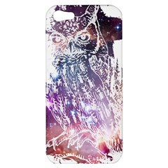 Cosmic Owl Apple Iphone 5 Hardshell Case