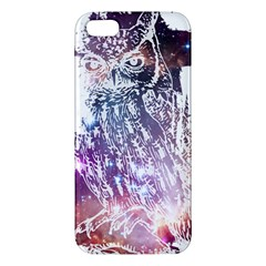 Cosmic Owl Iphone 5 Premium Hardshell Case by Contest1775858