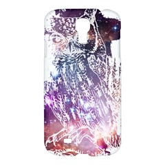 Cosmic Owl Samsung Galaxy S4 I9500/i9505 Hardshell Case by Contest1775858