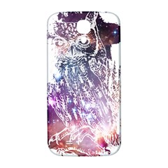 Cosmic Owl Samsung Galaxy S4 I9500/i9505  Hardshell Back Case by Contest1775858