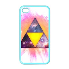 Cosmic Triple Triangles Apple iPhone 4 Case (Color) by Contest1775858