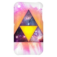 Cosmic Triple Triangles Apple iPhone 3G/3GS Hardshell Case by Contest1775858