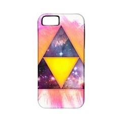 Cosmic Triple Triangles Apple iPhone 5 Classic Hardshell Case (PC+Silicone) by Contest1775858