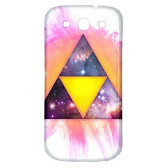Cosmic Triple Triangles Samsung Galaxy S3 S Iii Classic Hardshell Back Case by Contest1775858