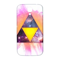 Cosmic Triple Triangles Samsung Galaxy S4 I9500/i9505  Hardshell Back Case