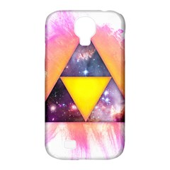 Cosmic Triple Triangles Samsung Galaxy S4 Classic Hardshell Case (pc+silicone) by Contest1775858