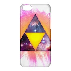 Cosmic Triple Triangles Apple Iphone 5c Hardshell Case