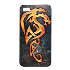 Golden Dragon Apple Iphone 4/4s Seamless Case (black)