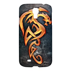Golden Dragon Samsung Galaxy S4 I9500/i9505 Hardshell Case