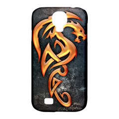Golden Dragon Samsung Galaxy S4 Classic Hardshell Case (pc+silicone)