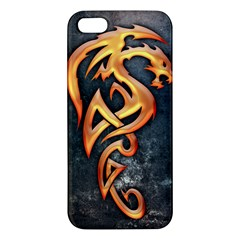 Golden Dragon Iphone 5s Premium Hardshell Case by Contest1775858