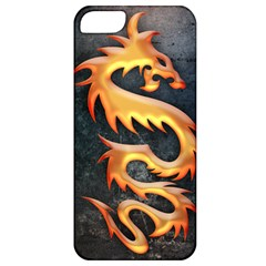 Golden Tribal Dragon Apple Iphone 5 Classic Hardshell Case by Contest1775858