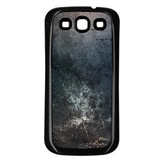 Grunge Metal Texture Samsung Galaxy S3 Back Case (black)