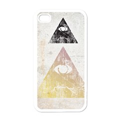 All Seeing Eye Apple Iphone 4 Case (white) by Contest1775858