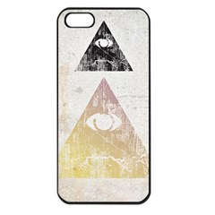 All Seeing Eye Apple Iphone 5 Seamless Case (black)
