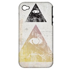 All Seeing Eye Apple Iphone 4/4s Hardshell Case (pc+silicone) by Contest1775858