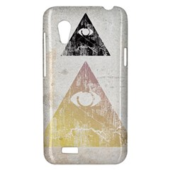All seeing eye HTC Desire VT T328T Hardshell Case by Contest1775858