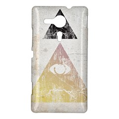 All seeing eye Sony Xperia Sp M35H Hardshell Case by Contest1775858