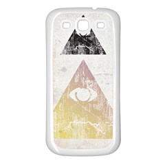 All Seeing Eye Samsung Galaxy S3 Back Case (white) by Contest1775858