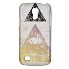 All Seeing Eye Samsung Galaxy S4 Mini Hardshell Case  by Contest1775858