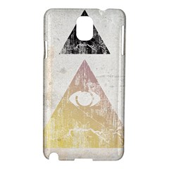All Seeing Eye Samsung Galaxy Note 3 N9005 Hardshell Case by Contest1775858