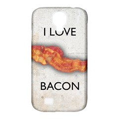 I Love Bacon Samsung Galaxy S4 Classic Hardshell Case (pc+silicone)