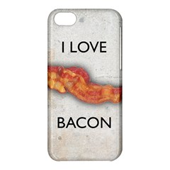 I Love Bacon Apple Iphone 5c Hardshell Case by Contest1775858